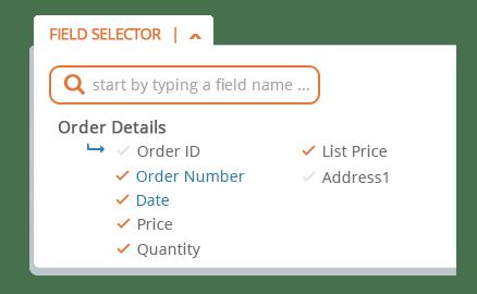 Field Selector Fields