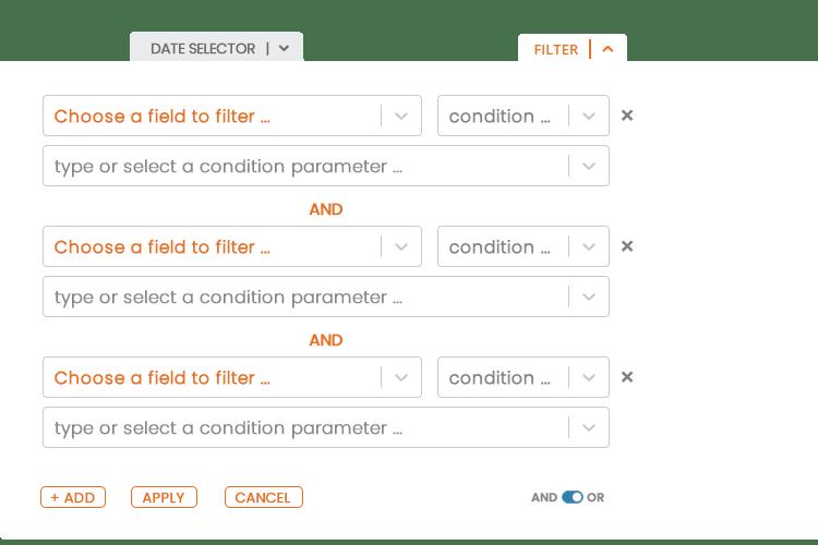 Data Export Filters